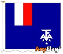 - FRENCH SOUTHERN AND ANTARCTIC LANDS ANYFLAG RANGE - VARIOUS SIZES